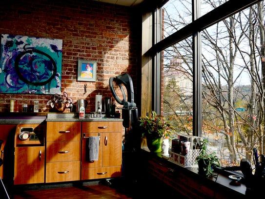 Siren Studio, owned by Sarah Carpenter, is a corner