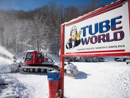 Tube World is located on Soco Road in Maggie Valley.