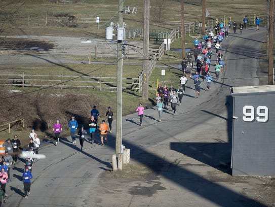 Hundreds of runners of all ages came out Jan. 30, 2016,