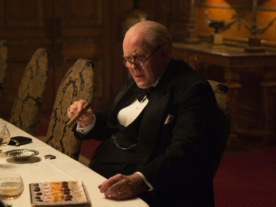 John Lithgow as Winston Churchill on 'The Crown.'