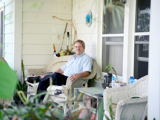 Cass Kunst moved his family to Asheville with hopes