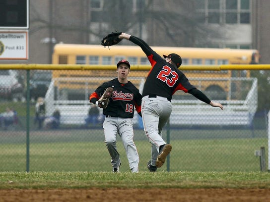 Palmyra second baseman Brandon Charochak, 23, is back