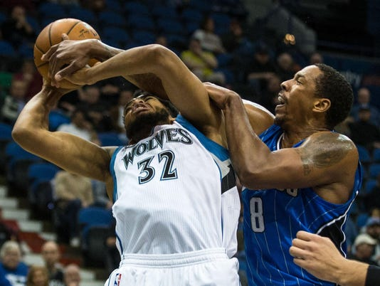 NBA: Orlando Magic at Minnesota Timberwolves