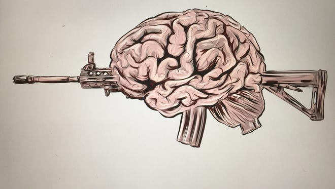 How much do the brains of mass shooter have to do with their crimes?