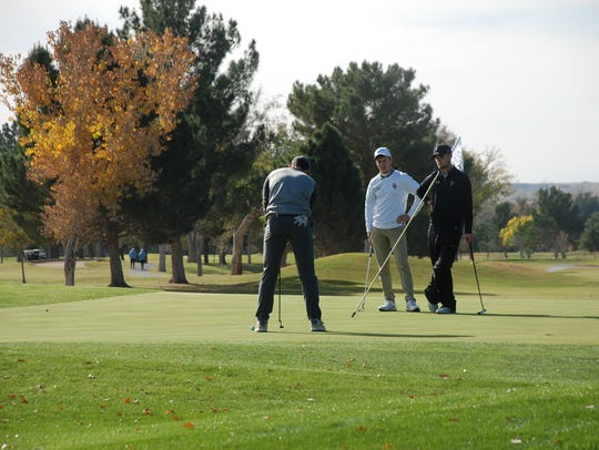 Action from the Sun Bowl Andeavor All-America Golf