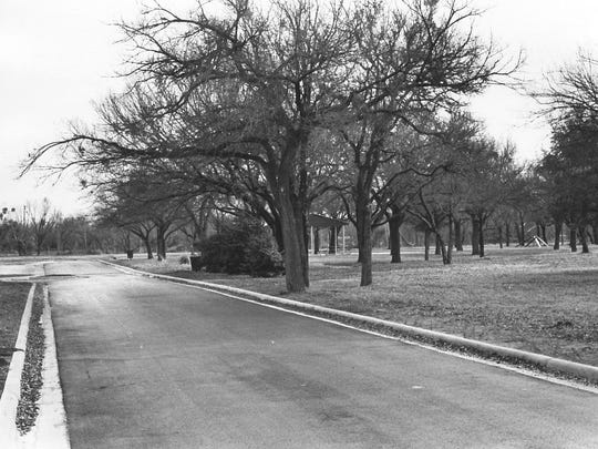 City funds were used in 1976 to repave streets in Kirby Park.