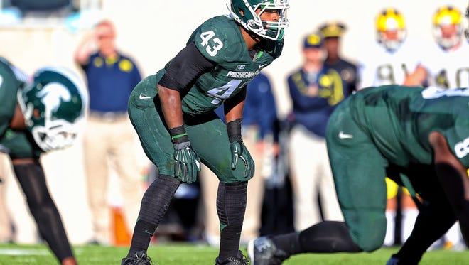 Linebacker Ed Davis had 58 tackles and seven quarterback sacks last season. He'll miss the entire 2015 season with a knee injury.