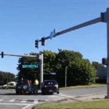 A CSX train blocked traffic for hours in Dade City when conductors abandoned the train at the end of their shift.