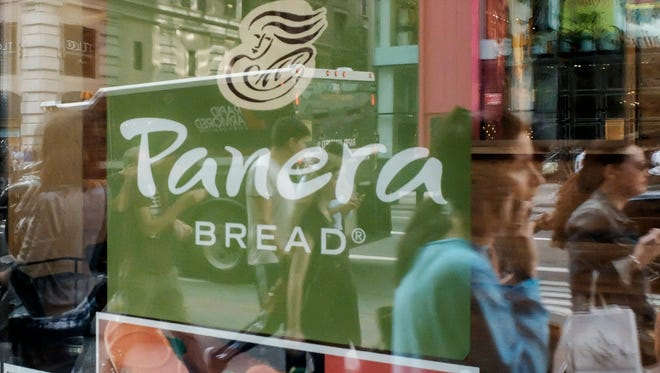 Panera Bread is creating 10,000 new jobs, the chain said Monday.