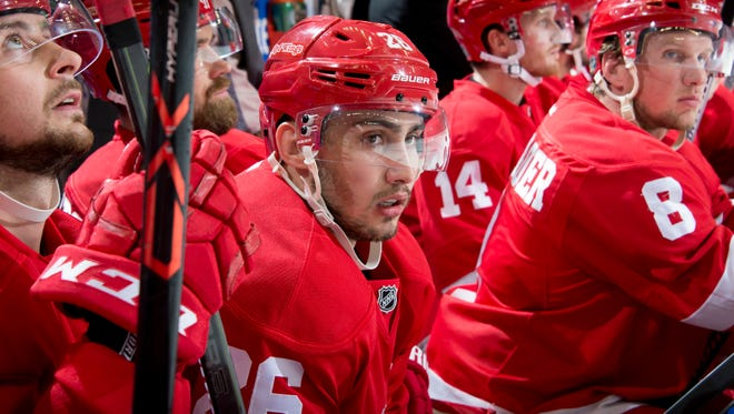 Forward Tomas Jurco could see an increase in ice time with Justin Abdelkader's absence.