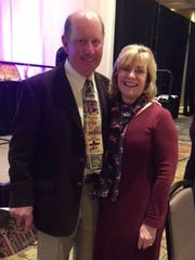 John and Laura Conniff were in Albuquerque on Thursday, Nov. 2, 2017 to  receive a 2017 National Philanthropy Day award from the Association of Fundraising Professionals' New Mexico chapter. Laura Conniff received the Outstanding Volunteer Fundraiser Award recognizing the impact she has made on breast cancer awareness and research.