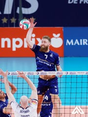 Chambersburg grad Mitch Stahl, who plays volleyball professionally overseas, was able to secure a flight back to Franklin County from France four hours before the country shut down flights.