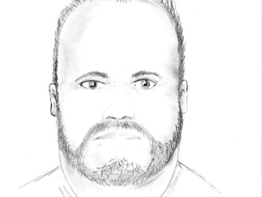 Composite sketch of attempted child abduction suspect 2.