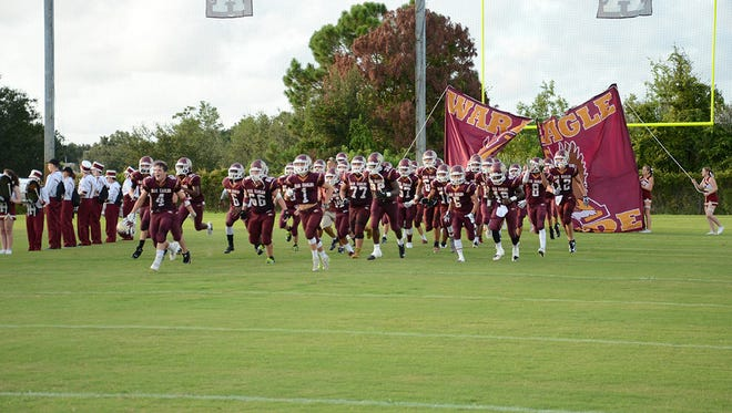 Here come your Astronaut War Eagles Friday night during their home game vs Satellite Beach Scorpions.