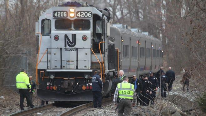 A man was hit by a Metro-North train in Spring Valley March 22, 2016. He was airlifted to Westchester Medical Center in Valhalla.