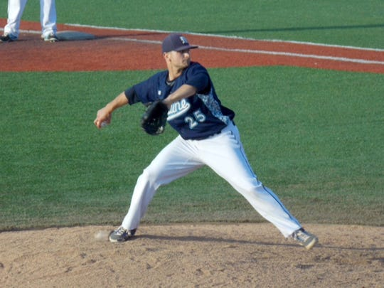 Cedar Crest grad Logan Fullmer attracted the attention of the Los Angeles Angels after a solid four-year college career at the University of Maine.