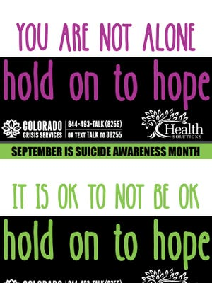 Health Solutions has a 24-hour crisis center that anyone can call, walk into (1310 Chinook Lake), or have a crisis clinician come to them at no charge.