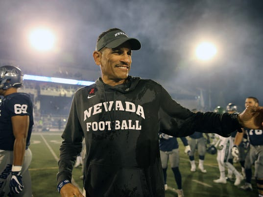 NCAA Football: Hawaii at Nevada