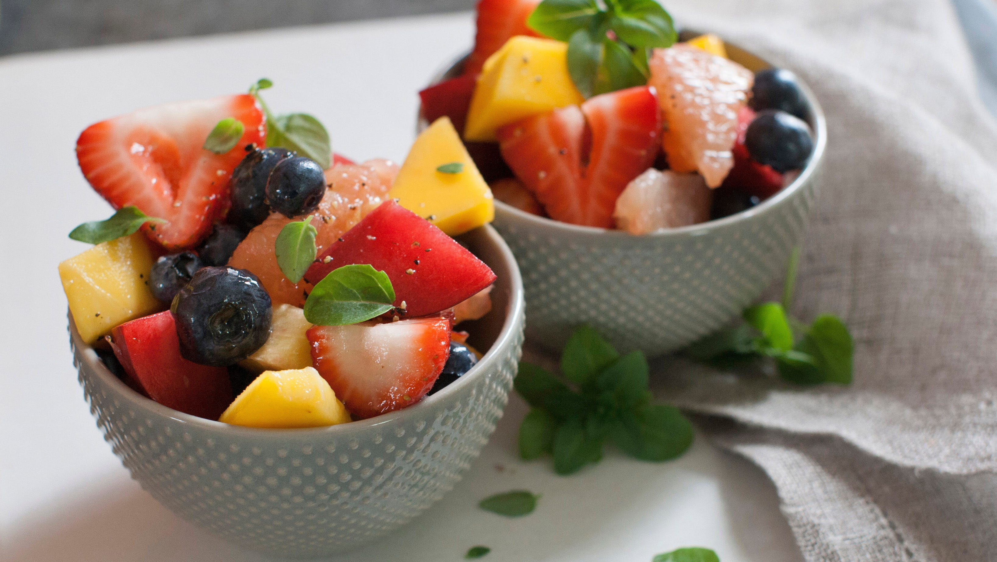 Recipe Give Fruit Salad Zing With Honey Black Pepper