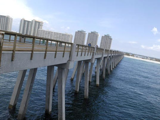 Pier pressure county wants more from navarre beach pier for Navarre fishing pier