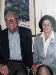 This undated photo provided by their son Michael Rippey