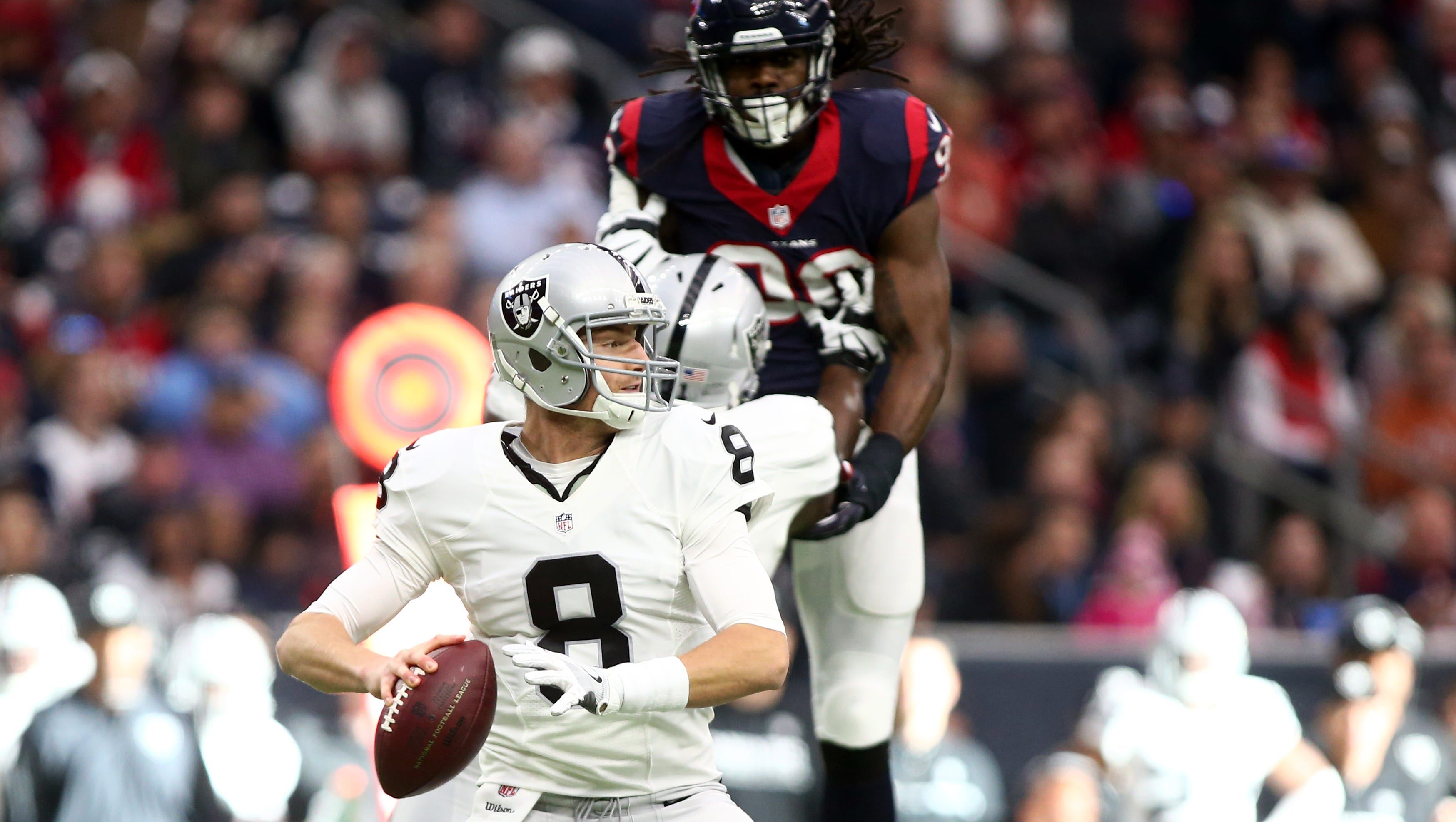 Couch: Connor Cook unfazed (as always) by ride with Raiders