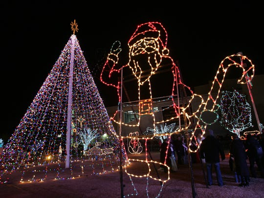 The Downtown Christmas lights will be at Cleveland
