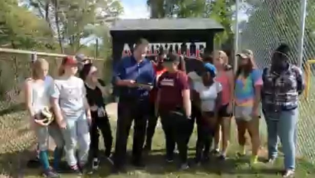 Asheville High softball player MaKenzie Rice is the latest winner of the Mission Health Spotlight Performance of the Week award.