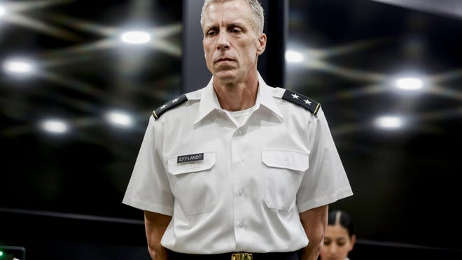 U.S. Army Maj. Gen. Scott Efflandt was removed in September from his position as post commander at Fort Hood. U.S. Army officials plan to suspend or fire several troops in response to a series of murders, suicides, sexual assaults and other violence at the base, the Associated Press reported Monday night.