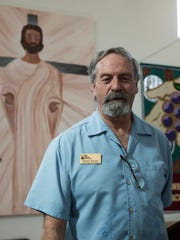 Henry Young, the new executive director of the Las Cruces Gospel Rescue Mission. Young took over from Bob Jeska in January. Young, photographed Thursday, February 23, 2017, in the mission's chapel, is also the organization's chaplain.