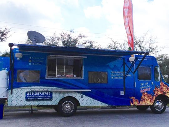 Local food truck, The Sizzle Truck, will participate in JetBlue's Food Truck Round-up