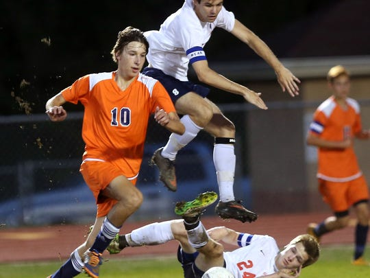 Blackman's Dylan Collins had four goals and five assists this past season.