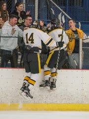 St. John Vianney v. Red Bank Catholic Hockey.  SJV