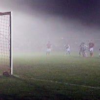 Sheboygan North scores a goal against Sheboygan South on Thursday, at Horace Mann Fields.
