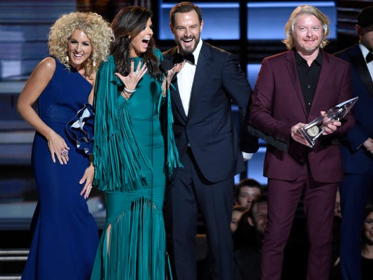 Little Big Town celebrates their Vocal Group of the