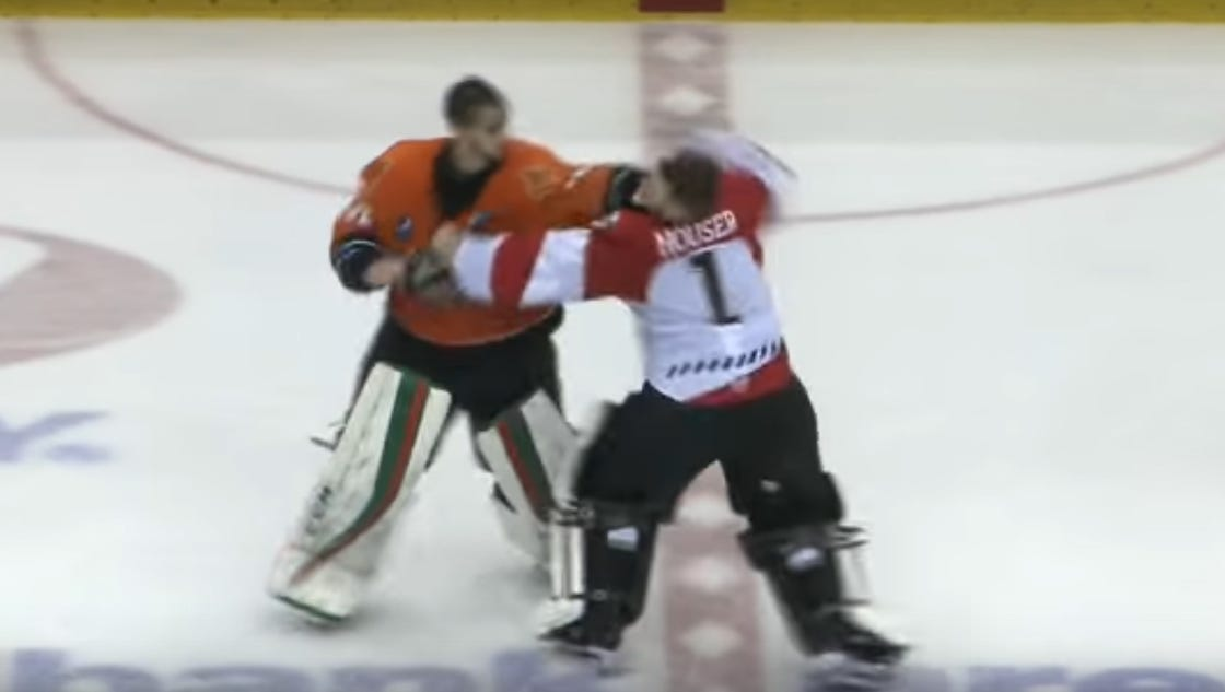 a guide to hockey fights National hockey league download report quick facts place new to perpetuate professional hockey as one of the national games in the united' states and canada.