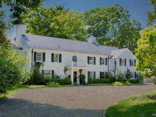 The Bedford estate that Michael Douglas and Catherine Zeta-Jones have listed for sale at $8.1 million