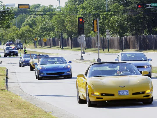 Corvettes of the North Car Cruise and Car Show takes