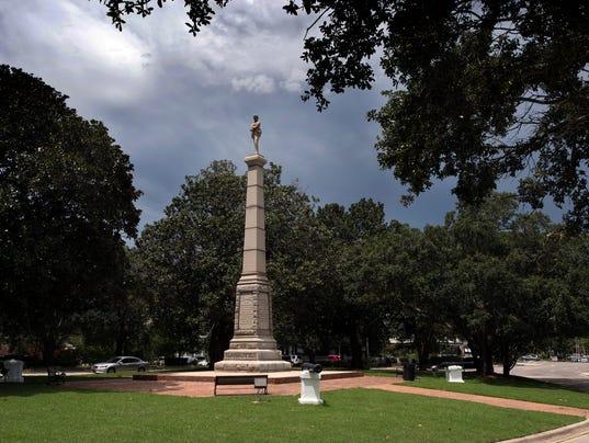 Our Confederate Dead Statue