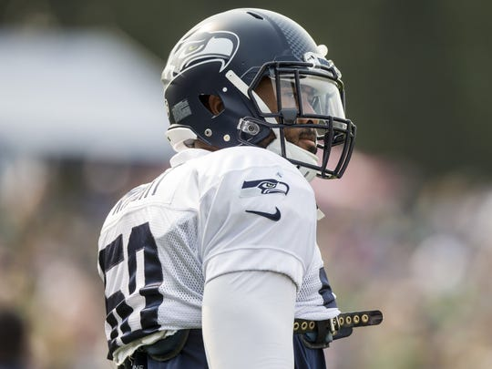 Linebacker K.J. Wright is one of seven Seahawks who