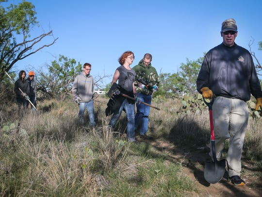 Volunteers hike out for trail maintenance Saturday,
