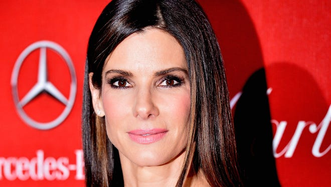 Actress Sandra Bullock arrives at the 25th Annual Palm Springs  International Film Festival on Jan. 4.