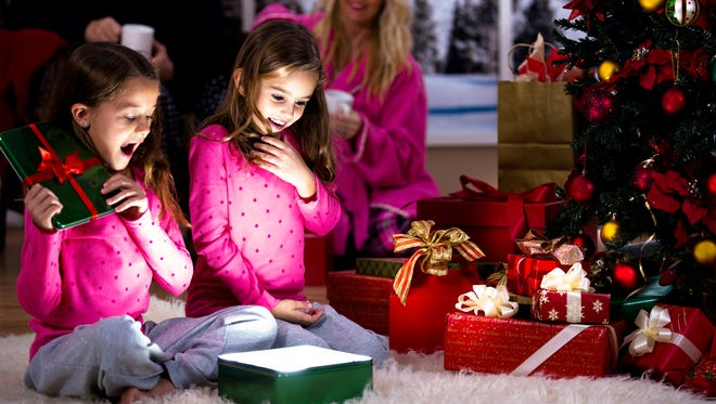 Watching happy smiles and hearing squeals of laughter while children open their presents can be extremely gratifying to parents during the holidays.