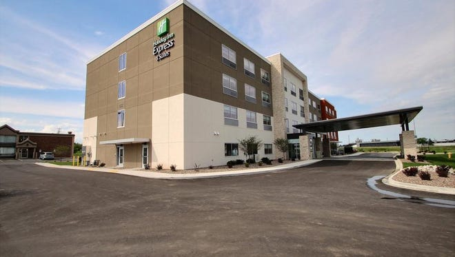 Wisco Hotel Group built the first new prototype Holiday Inn Express in the country in Fond du Lac last year. It will build another in Grand Chute in 2019.