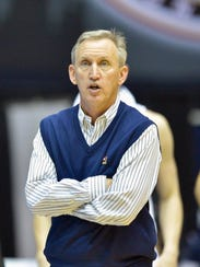 Belmont coach Rick Byrd has led the Bruins to seven
