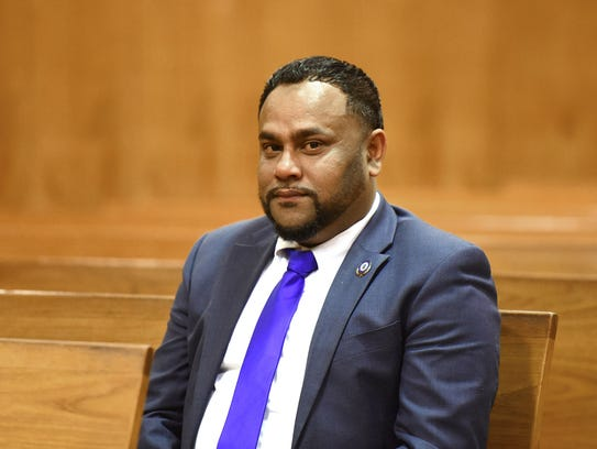 Paterson Councilman Shahin Khalique in court Friday