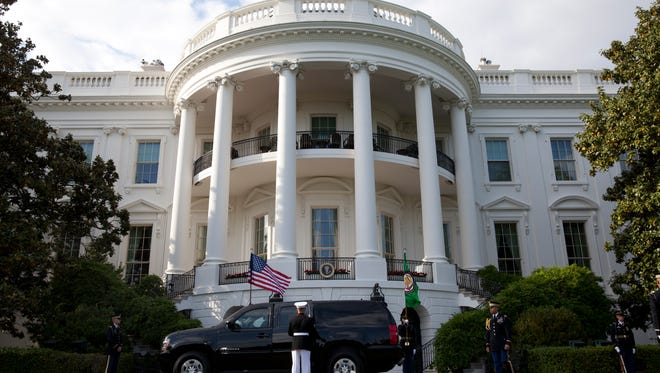 """Typing a combination of a racial slur and the word """"house"""" into Google Maps pulls up 1600 Pennsylvania Ave. for some users."""
