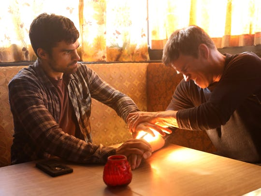 "Sean Teale (left) and and Stephen Moyer star in ""The"