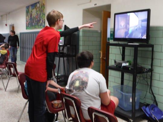 Students gathered May 5 to play games while raising
