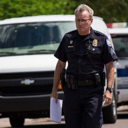 Sgt. Trent Crump described the scene where a woman